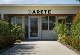 arete-entrance