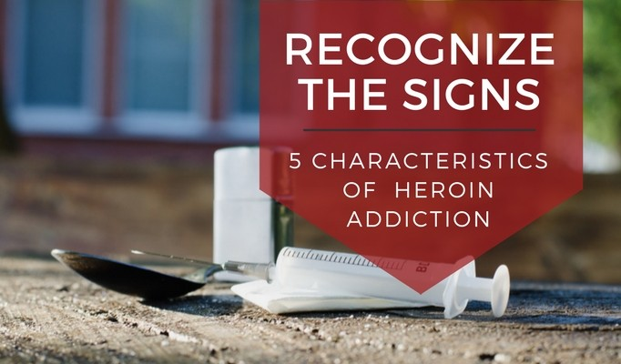 A drug addict signs of 7 Signs