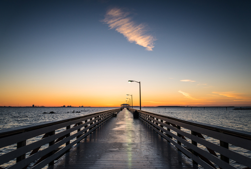 Pier in Tampa