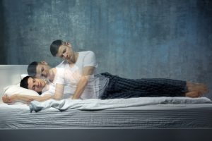 Boy's soul leaves his body as he falls asleep