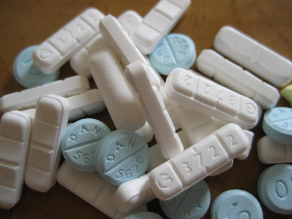A pile of xanax and klonopin