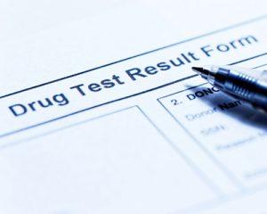 Drug Test Results Form